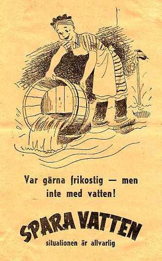 Annons från 50-talet